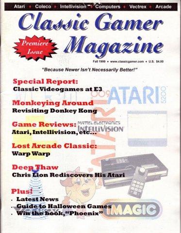 Classic Gamer Fall 1983