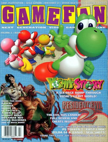 Gamefan Issue 61 February 1998 (Volume 6 Issue 2)