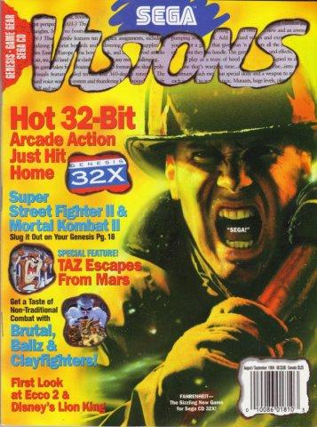 Sega Visions Issue 020 (August/September 1994)