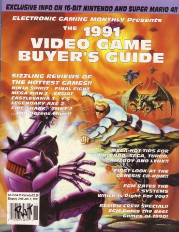 1991 Video Game Buyer's Guide