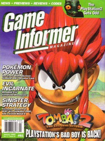 Game Informer Issue 081 January 2000