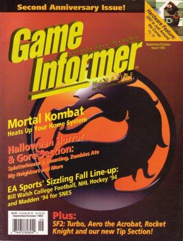 Game Informer Issue 012 September/October 1993