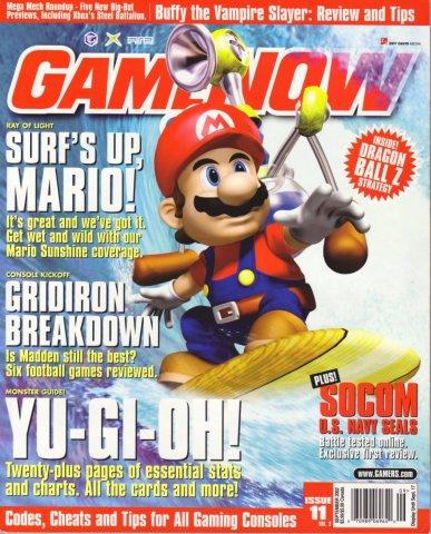 GameNOW Issue 11 September 2002
