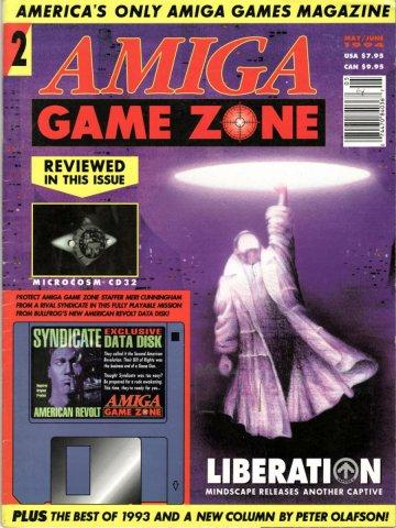 Amiga Game Zone Issue 002