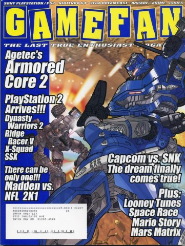 GameFan Issue 87 November 2000 (Volume 8 Issue 11)