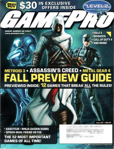GamePro Issue 227 August 2007