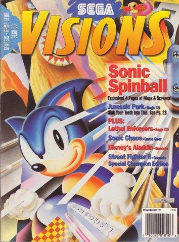 Sega Visions Issue 015 (October/November 1993)