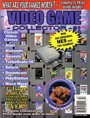 Video Game Collector Issue 01 Summer 2004