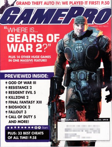 GamePro Issue 235 April 2008
