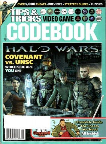 Tips & Tricks Video Game Codebook July-August 2009