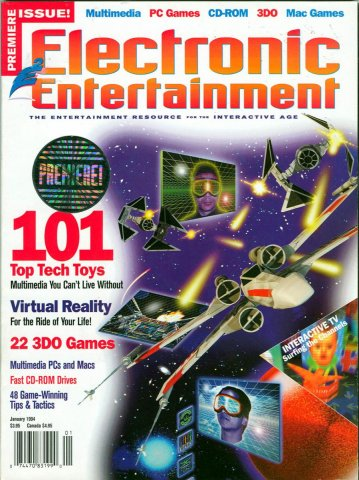 Electronic Entertainment Vol.1 No.01 (January 1994)