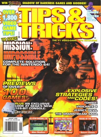 Tips & Tricks Issue 042 August 1998