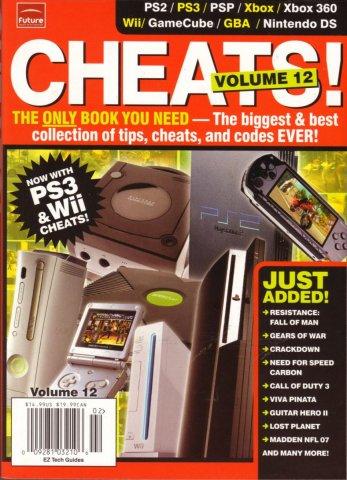 Cheats! Volume 12