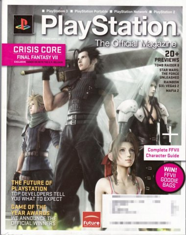 PlayStation The Official Magazine (USA) Issue 003 February 2008