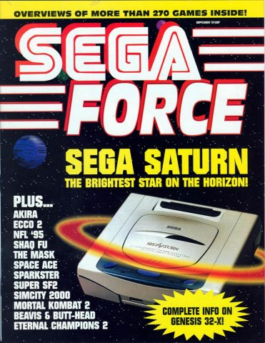 Sega Force Issue 5 July 1994