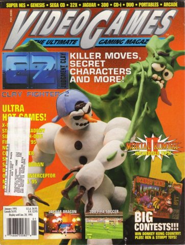 Video Games Issue 72 January 1995