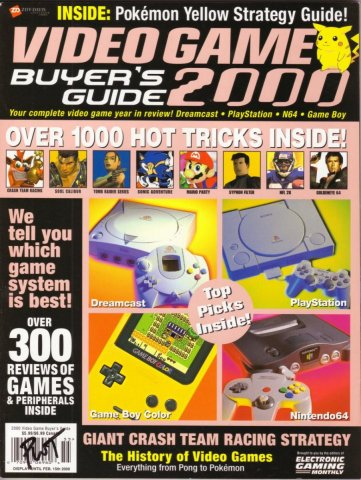 2000 Video Game Buyer's Guide