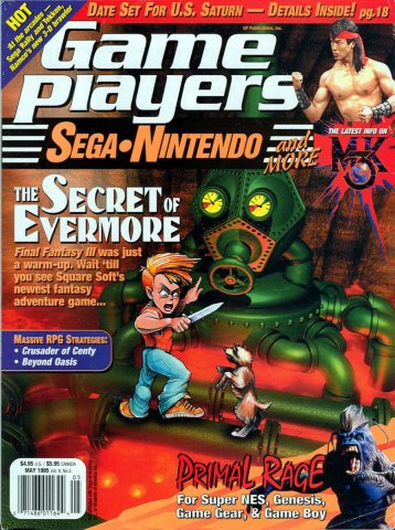 Game Players Issue 071 May 1995