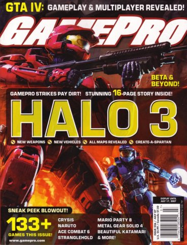 GamePro Issue 226 July 2007