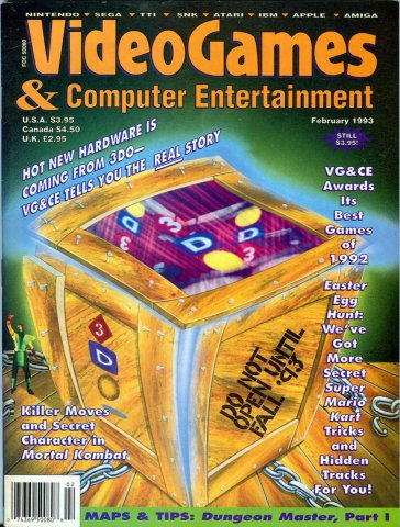 Video Games & Computer Entertainment Issue 49 February 1993