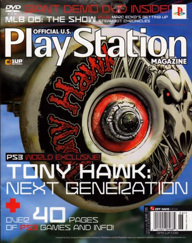 Official U.S. PlayStation Magazine Issue 105 (June 2006) (cover b)