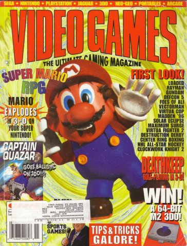 Video Games Issue 82 November 1995