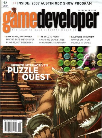 Game Developer 138 Sep  2007