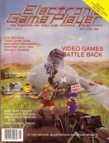 Electronic Game Player Issue 2 May/June 1988
