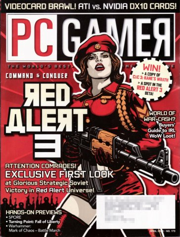 PC Gamer Issue 173 April 2008