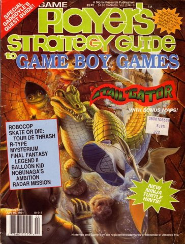 Game Players Strategy Guide to Game Boy Games Volume 2 Issue 3 April/May 1991