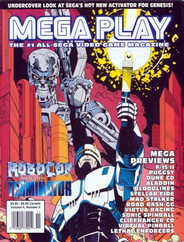 Mega Play Vol.4 No.5 October 1993