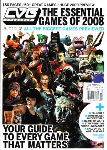 CVG presents the Essential Games of 2008