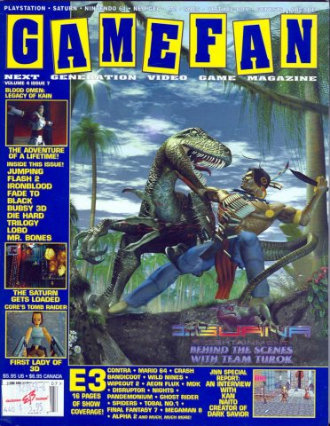 Gamefan Issue 43 July 1996 (Volume 4 Issue 7)