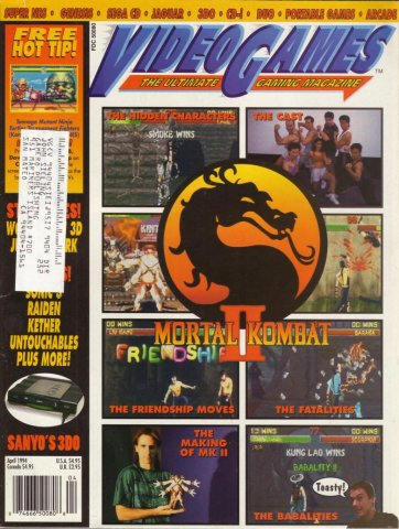 Video Games Issue 63 April 1994