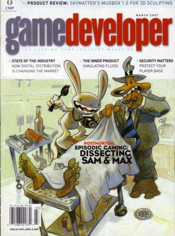 Game Developer 133 Mar 2007
