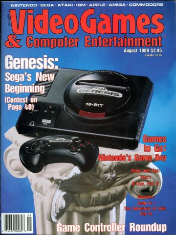 Video Games & Computer Entertainment Issue 07 August 1989