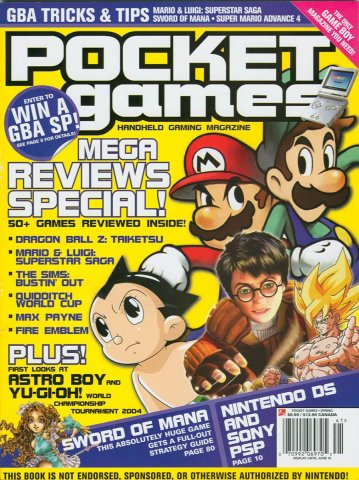 Pocket Games Issue 14 (Spring 2004)