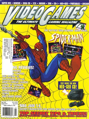 Video Games Issue 76 May 1995