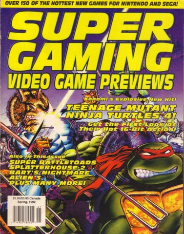 Super Gaming Issue 4 (Spring 1992)