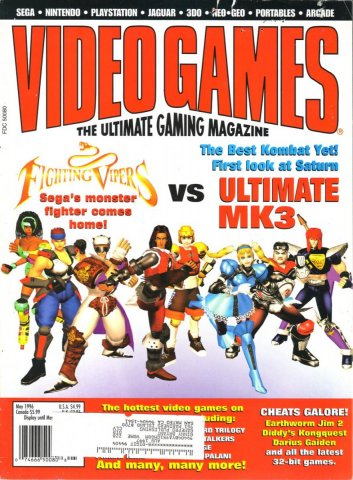 Video Games Issue 88 May 1996
