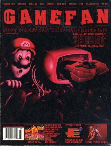 Gamefan Issue 31 July 1995 (Volume 3 Issue 7)