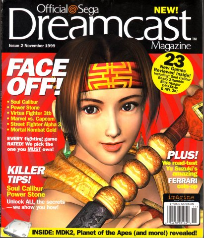 Official Sega Dreamcast Magazine Issue 002 (November 1999)