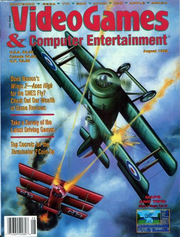 Video Games & Computer Entertainment Issue 43 August 1992
