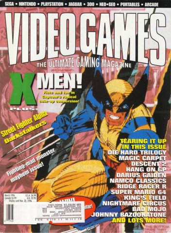 Video Games Issue 86 March 1996