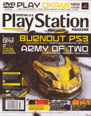 Official U.S. PlayStation Magazine Issue 109 (October 2006)
