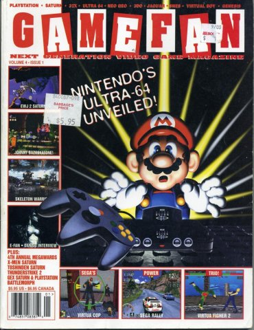 Gamefan Issue 37 January 1996 (Volume 4 Issue 1)
