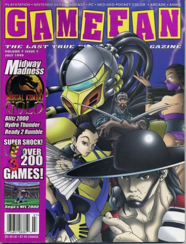 Gamefan Issue 71 July 1999 (Volume 7 Issue 7)