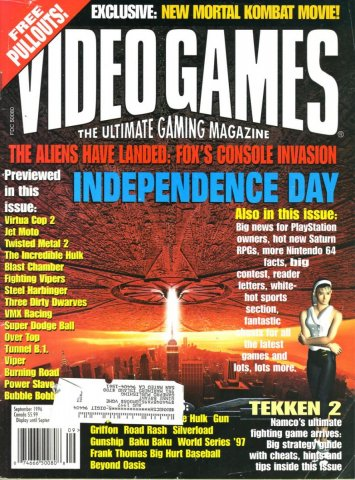 Video Games Issue 92 September 1996