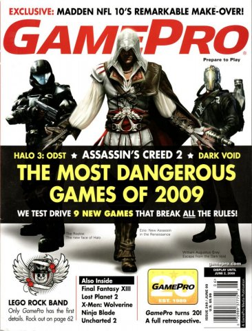 GamePro Issue 249 June 2009