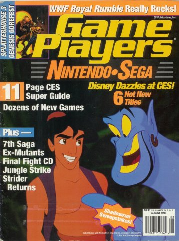 Game Players Issue 050 August 1993